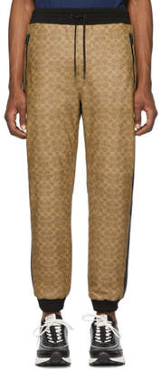Coach 1941 Khaki Signature Varsity Lounge Pants