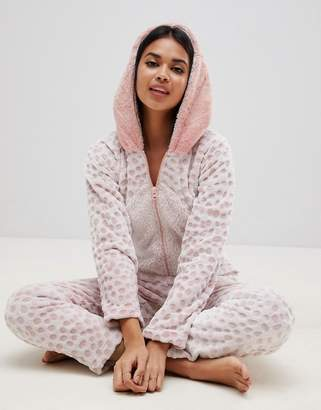 Hunkemoller Dinosaur Monster Fleece Onesie