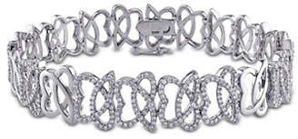 HBC CONCERTO Julianna B. 14K White Gold 1.1 Total Carat Weight Diamond Bracelet