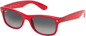 Ray-Ban RB 2132 Red Rectangle Sunglasses