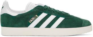 adidas Originals Green Gazelle Sneakers $90 thestylecure.com
