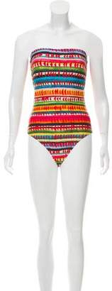 Lenny Niemeyer Printed One-Piece Swimsuit w/ Tags