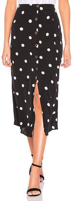 Free People Retro Love Midi Skirt