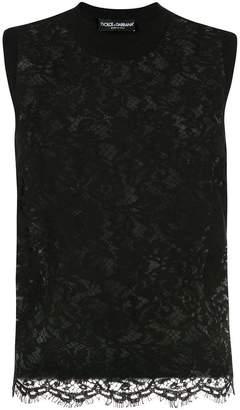 Dolce & Gabbana lace tank top