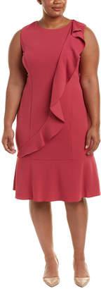 Adrianna Papell Plus Shift Dress