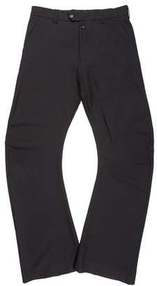 John Galliano Wool Flared Pants