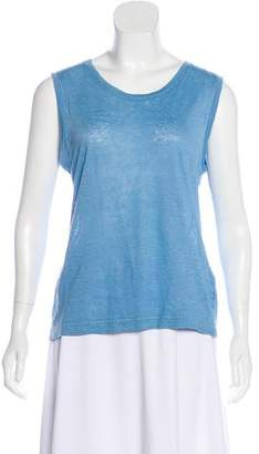 Massimo Alba Linen Sleeveless Top