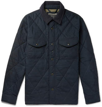 Filson Hyder Quilted Waxed-Cotton Primaloft Jacket