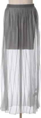 Luftrobe (ルフトローブ) - Luftrobe シャイニーシースループリーツスカート