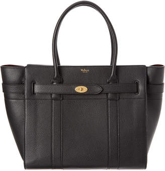 Mulberry Bayswater Small Zipped Leather Tote