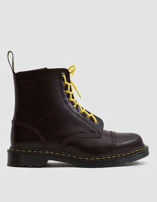 Dr. Martens Needles 1460 Smooth Leather Boot in Oxblood
