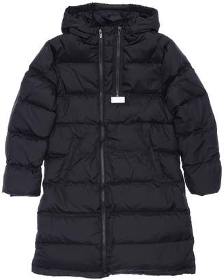 Kenzo HOODED NYLON DOWN COAT
