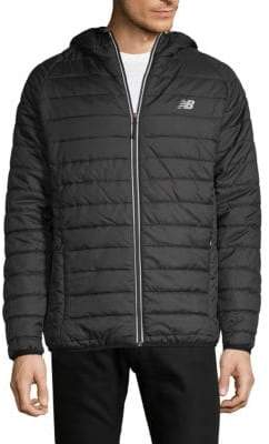 New Balance Quilted Full-Zip Jacket