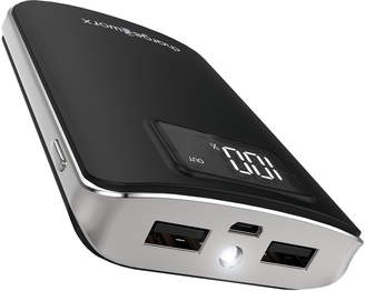 Chargeworx Black 6000mAh Pre-Charged Power Bank