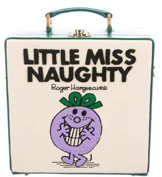 Olympia Le-Tan Little Miss Naughty Box Clutch