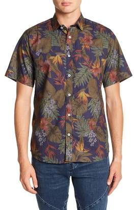 Descendant Of Thieves Hawaiian Sketch Slim Fit Shirt
