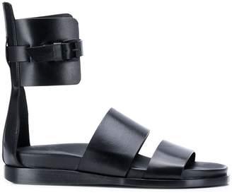 Ann Demeulemeester flat strappy sandals