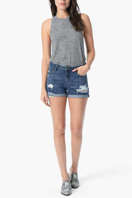 Joe's Jeans Rolled Shorts in Vaneza