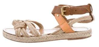 Etoile Isabel Marant Ankle Strap Espadrille Sandals