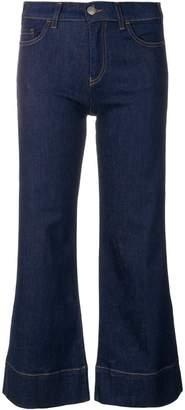 Emporio Armani cropped flared jeans