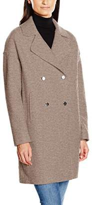 Tommy Hilfiger Women's RIDER BOILED WOOL COAT Reefer Coat,(Manufacturer Size: M)