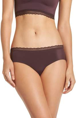Naked Almost Lace Trim Hipster Briefs