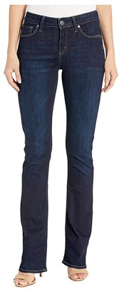 Silver Jeans Co. Avery High-Rise Curvy Fit Slim Bootcut Jeans in Indigo