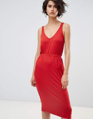 Warehouse Cami Midi Dress