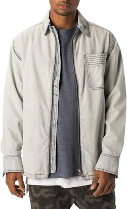 Zanerobe Zip Front Denim Jacket