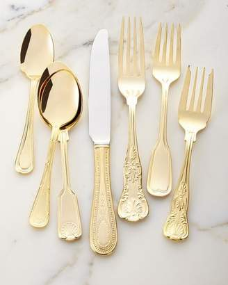 Towle Silversmiths 90-Piece Gold-Plated Hotel Flatware Service