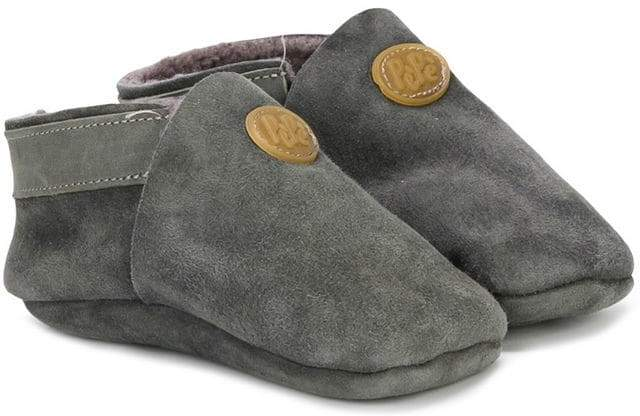 shearling lined booties