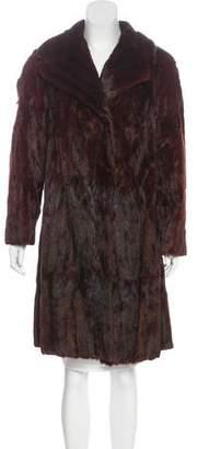 Joseph Mink Fur Coat