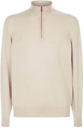 Brunello Cucinelli Cashmere Polo Neck Sweater
