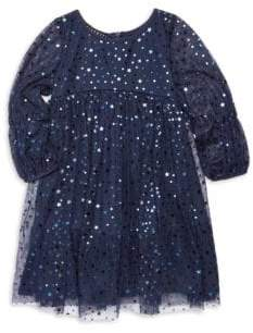 Kate Mack Little Girl's Starry Night Dress