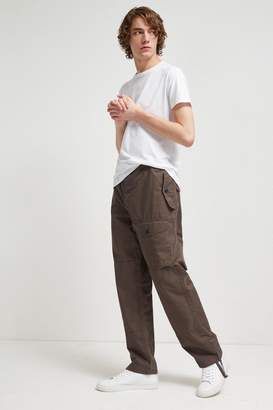 French Connenction Pigment Peached Cotton Loose Trousers