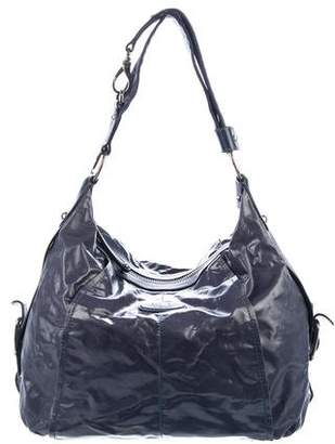 Tod's Leather-Trimmed Zip Hobo