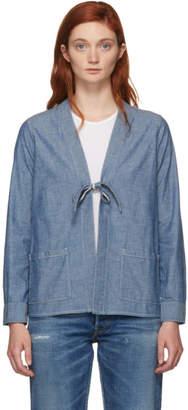 Visvim Blue Denim Lhamo Jacket
