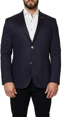 evo Maceoo Shaped Fit Blazer Checkmate
