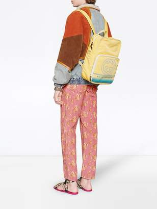 Gucci Medium backpack with interlocking g print