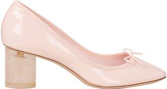 Repetto Jezabel Glitter Heel Heels