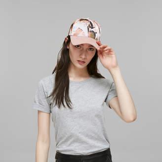 Mackage ZIGGY Unisex satin cap with suede visor