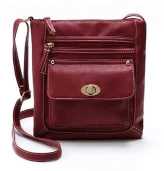 Meigar Crossbody Bag for Women Adjustable Strap - Vegan Leather Tote Shoulder Handbag - Messenger Purse