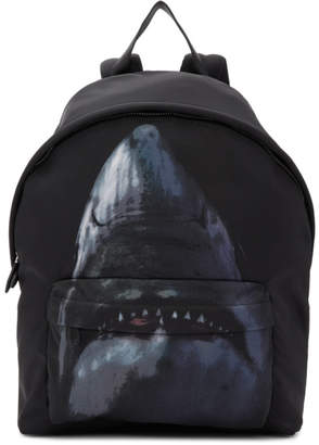 Givenchy Black Shark Backpack