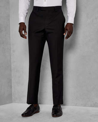 Ted Baker MARLIET Wool satin detail dinner suit pants