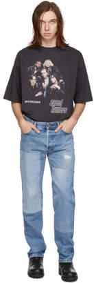 B Sides Indigo Reworked Patchwork Jeans