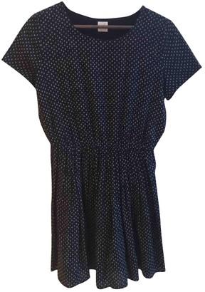 Des Petits Hauts Black Cotton Dress for Women