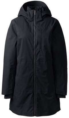 Footaction Cheap Online Discount Wholesale Womens Regular Coastal Rain Parka - 8 - BLACK Lands End Cost yeQgGCn