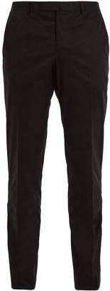 Boglioli Slim-fit cotton-blend chino trousers