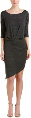 Splendid Asymmetric Sheath Dress