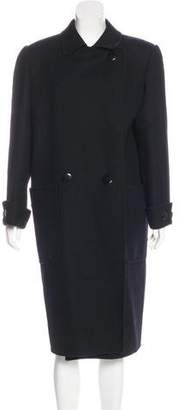 Salvatore Ferragamo Wool Long Coat